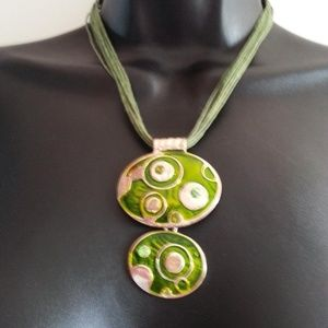 Fashion Metal Pendant Necklace